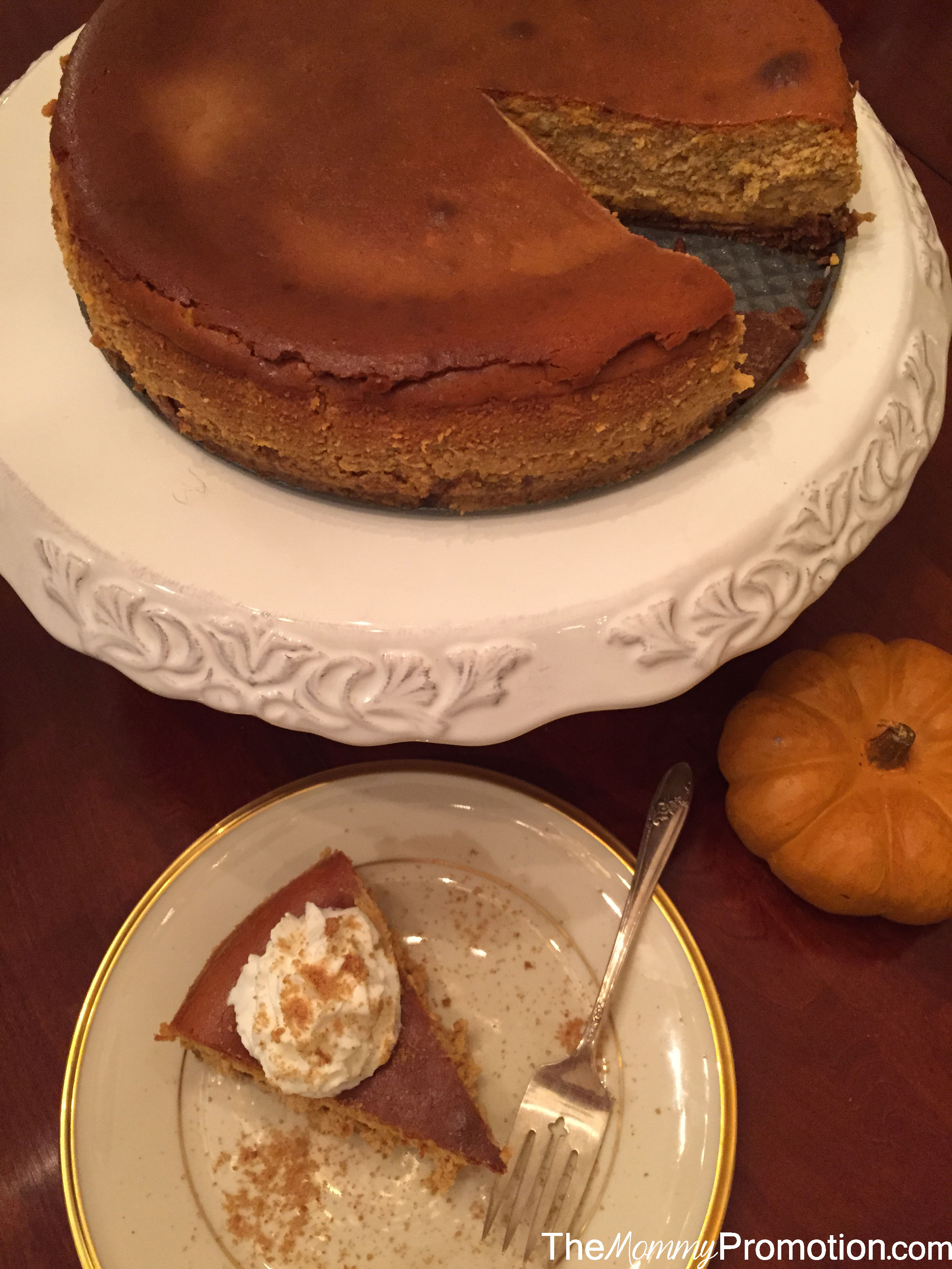 Recipe_Spice Pumpkin Cheesecake_The Mommy Promotion_Pumpkin Cake