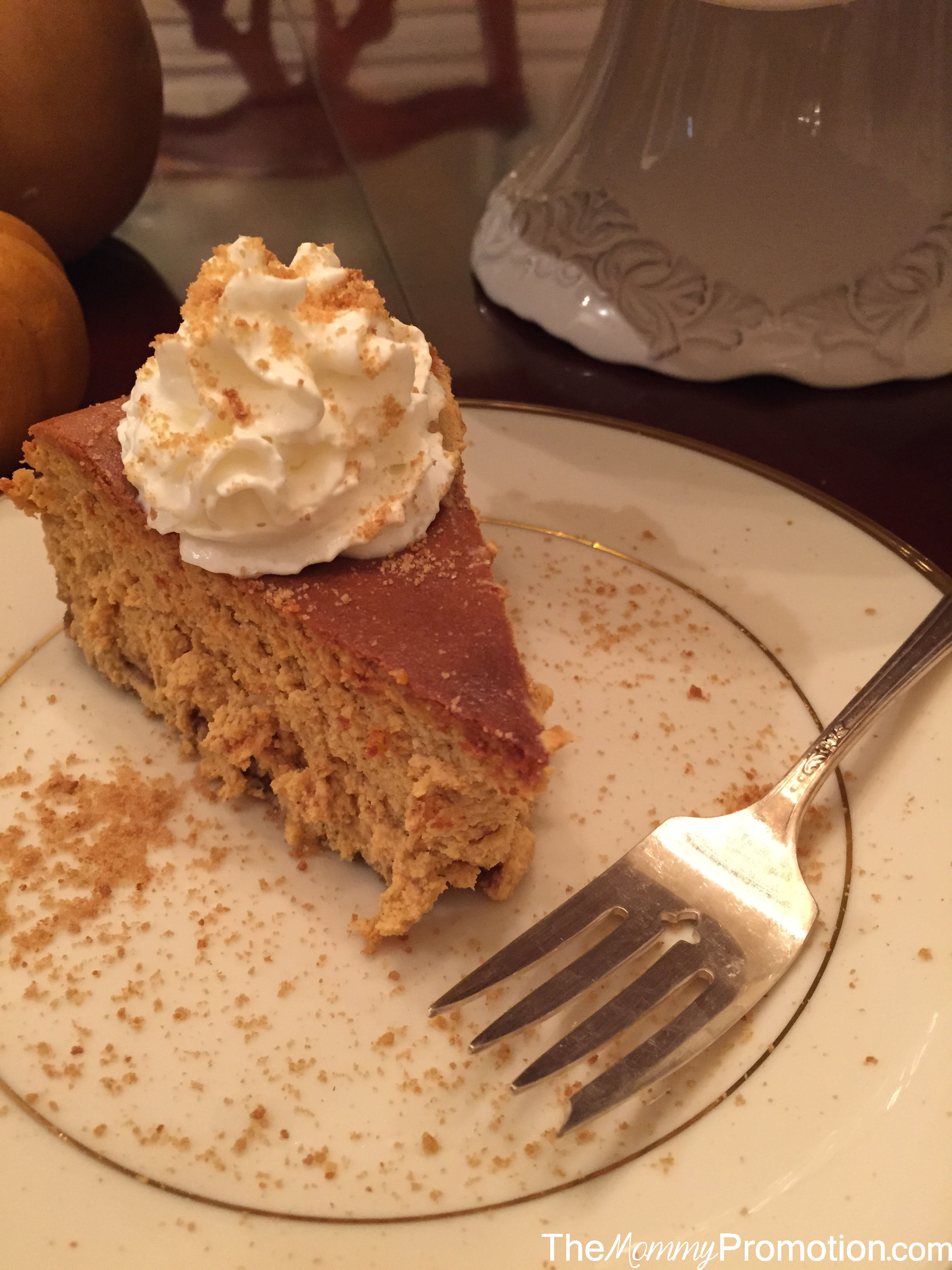 Recipes_Spiced Pumpin Cheesecake_Fall_The Mommy Promotion