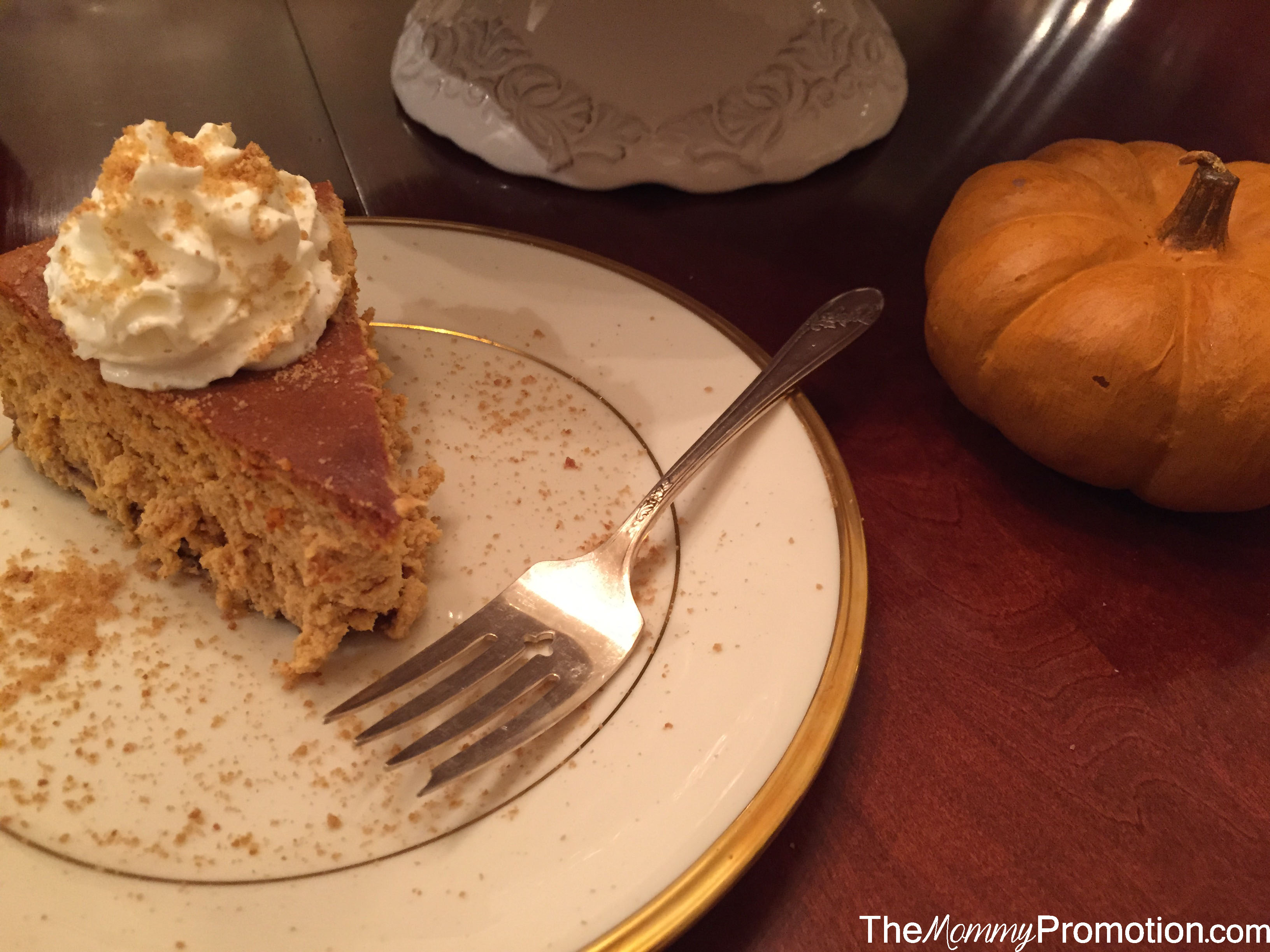Spiced Pumpkin Cheesecake_Recipe_The Mommy Promotion