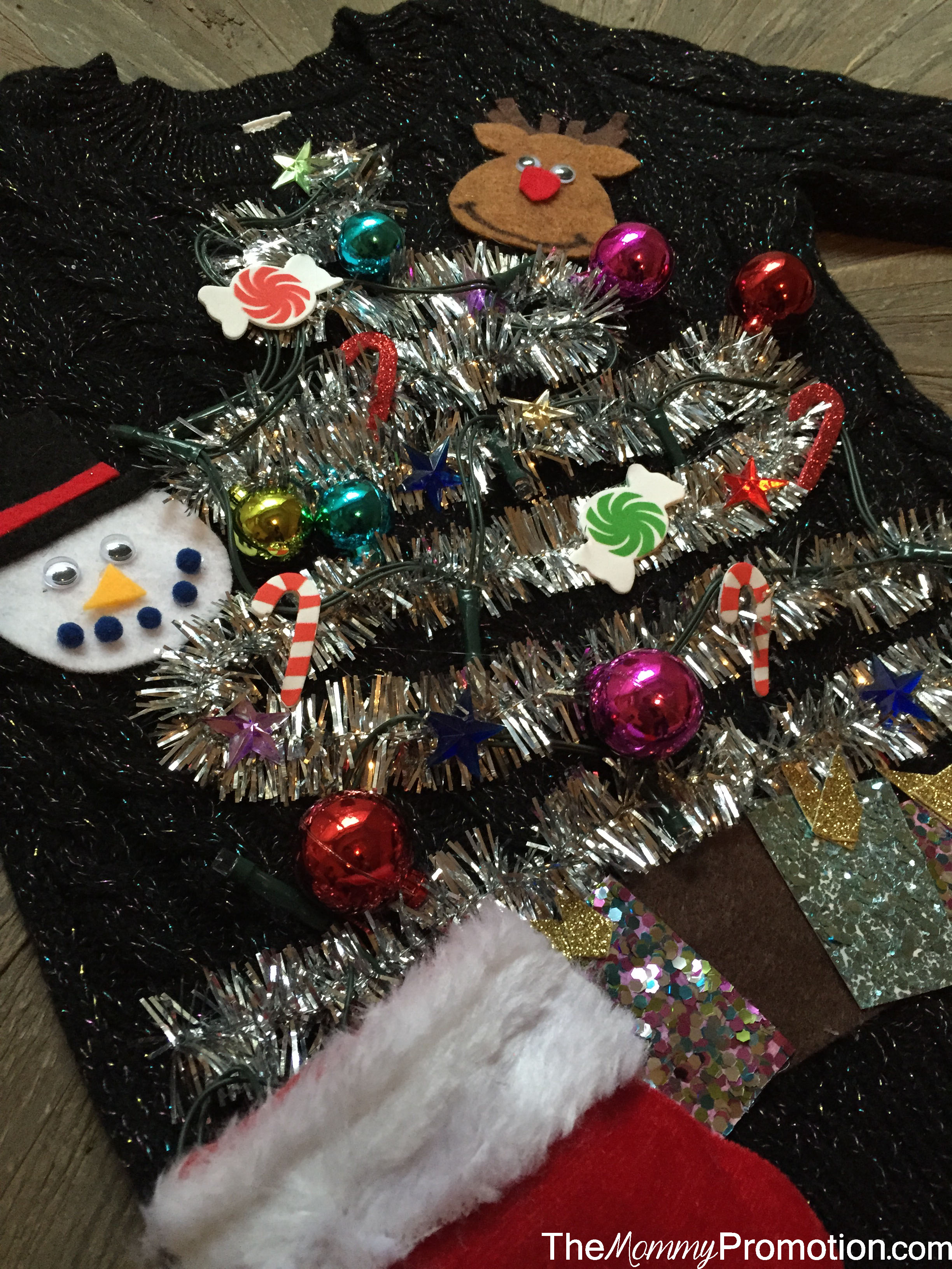 DIY Ugly (Cute) Christmas Sweater – for Kids! – The Mommy ...
