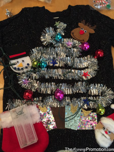 Ugly Christmas Sweater_Baby and Kids_DIY_Lights_The Mommy Promotion
