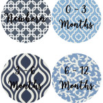 CLICK HERE - Newborn - 12 Month Decals