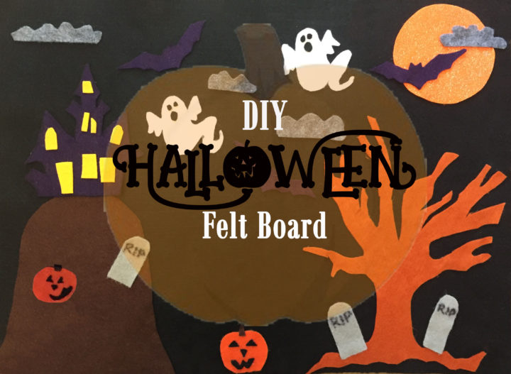 halloween felt board a simple halloween craft for kids